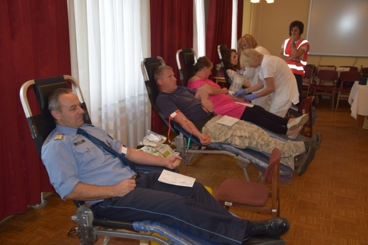 Vért adtak a nógrádi rendőrök