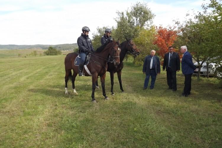 Lovas rendőrök Magyarnándorban