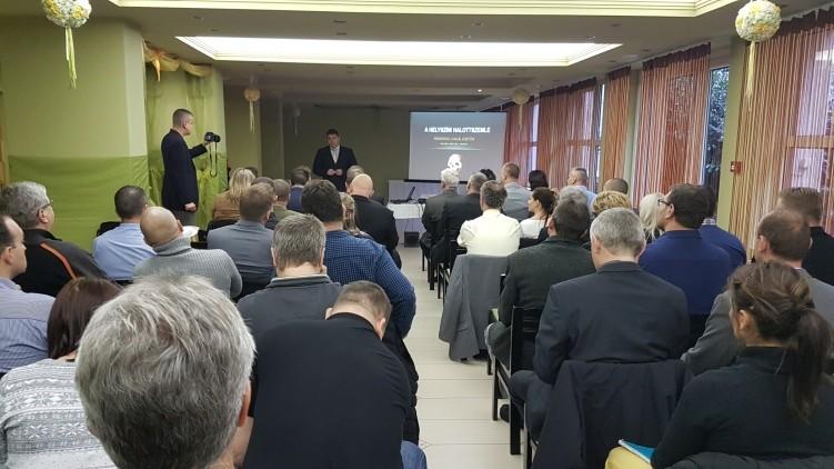 Életvédelmi konferencia Salgótarjánban