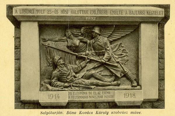 Az első világháború katonáira emlékezett Salgótarján