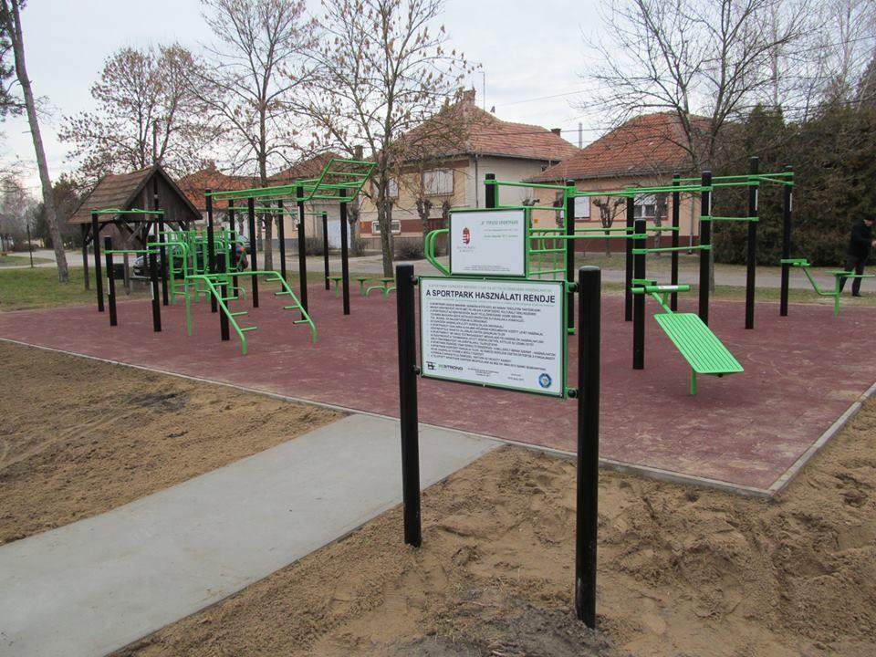 Újabb sportpark épül Balassagyarmaton