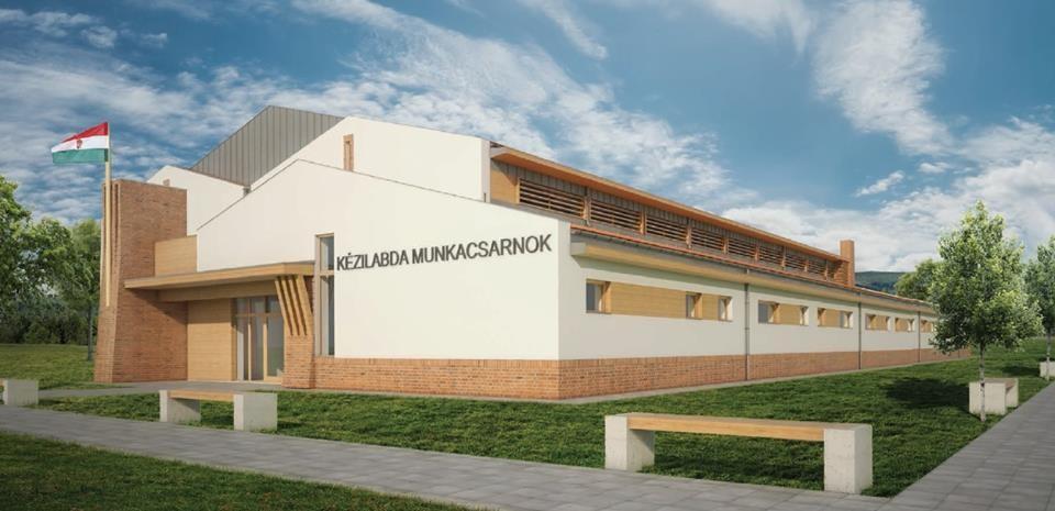Új sportcsarnokot építenek Balassagyarmaton