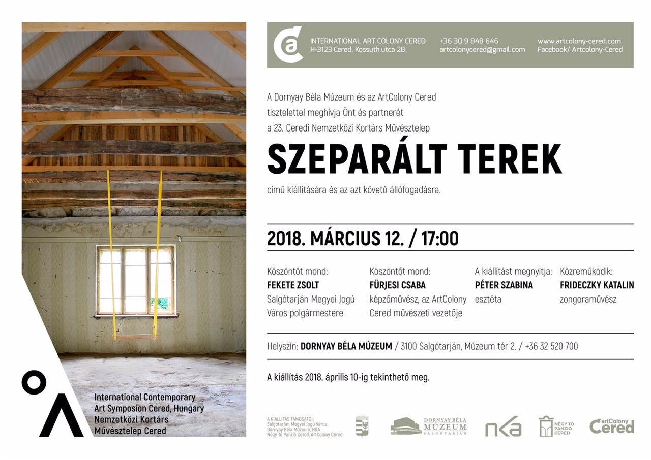 A Ceredi Nemzetközi Művésztelep alkotásait mutatják be Salgótarjánban