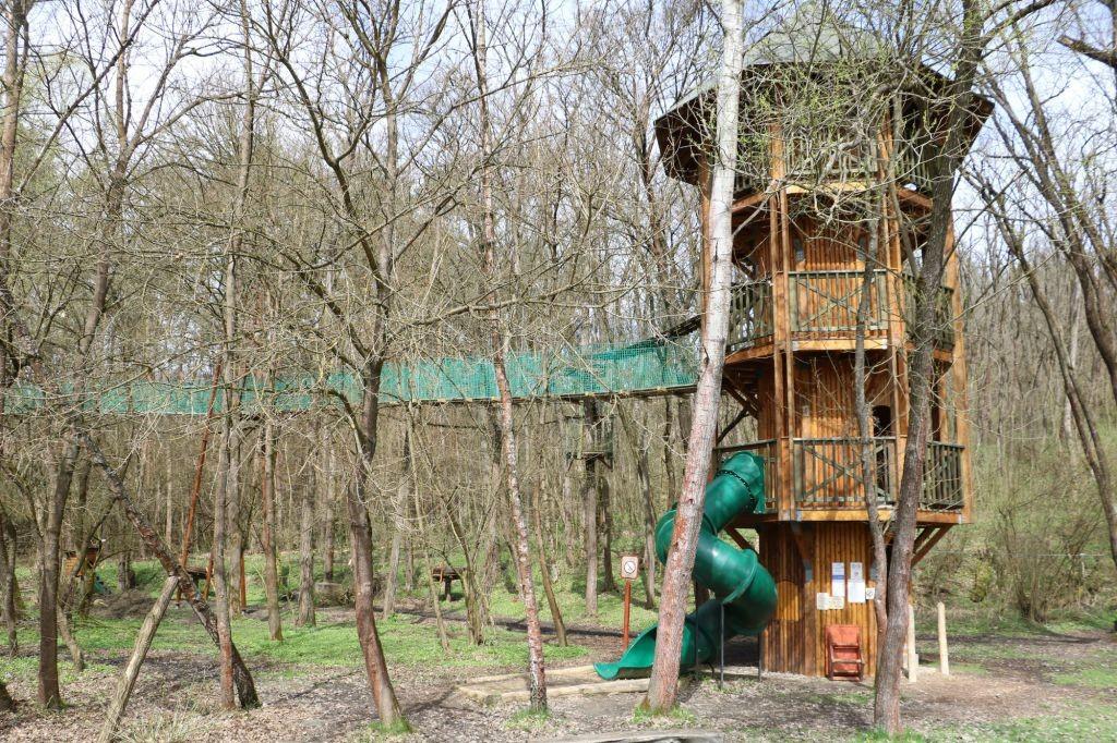 Megújult a lombkorona-tanösvény Ipolytarnócon