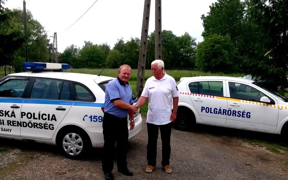 Szolgálati gépkocsit kaptak a honti polgárőrök