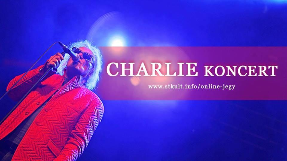 Októberben Salgótarjánban koncertezik Charlie