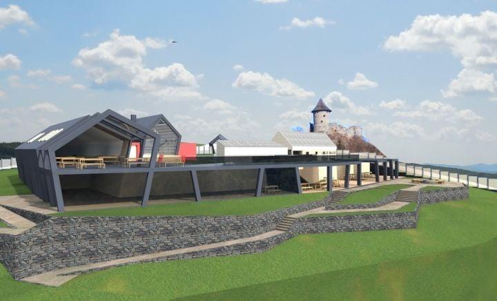Új magyarországi kirándulóközpontból lehet majd felmenni a somoskői várba