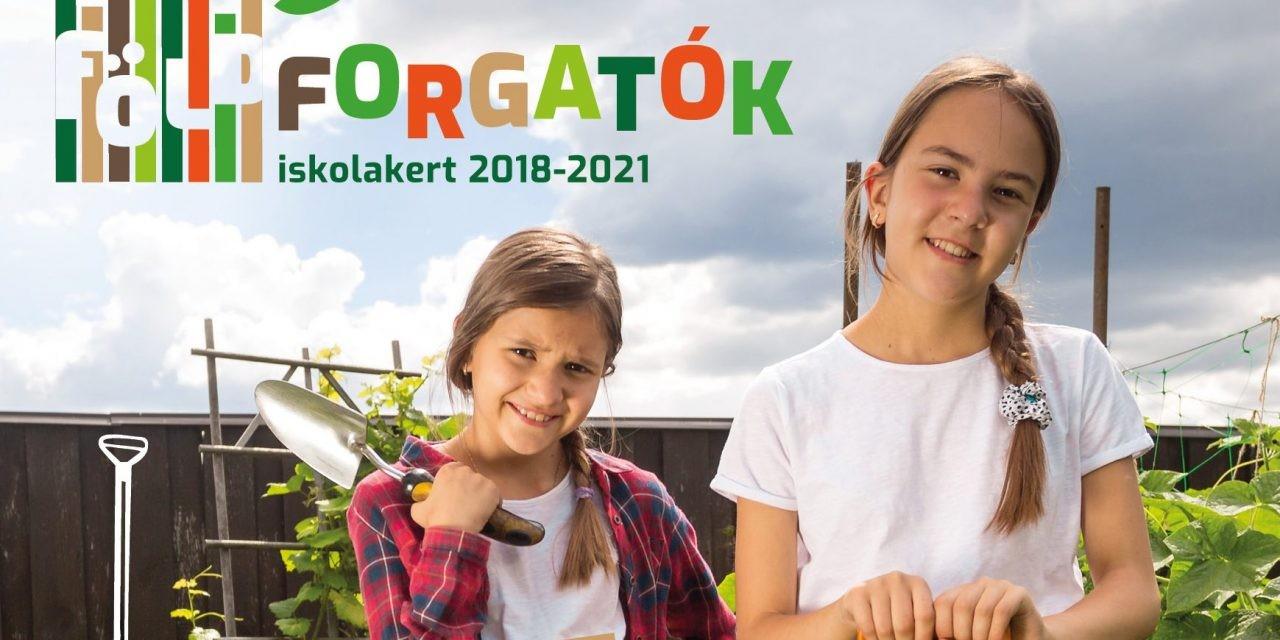 """Elindult a """"Földforgatók"""" iskolakert program Nógrád megyében"""