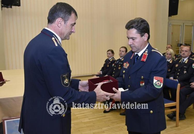 Főigazgatói elismeréseket vehettek át nógrádi katasztrófavédők