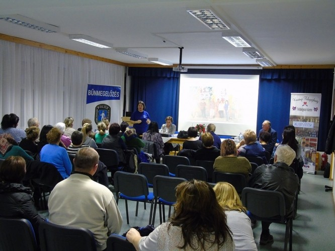 Varsány községben is fontos a polgárok védelme