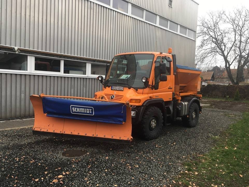 Új gépekkel takarítják majd a havat Balassagyarmaton