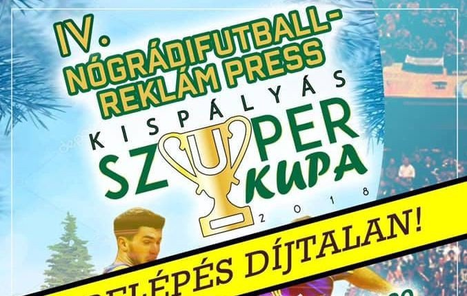 Kispályás foci szuperkupát rendez Salgótarján