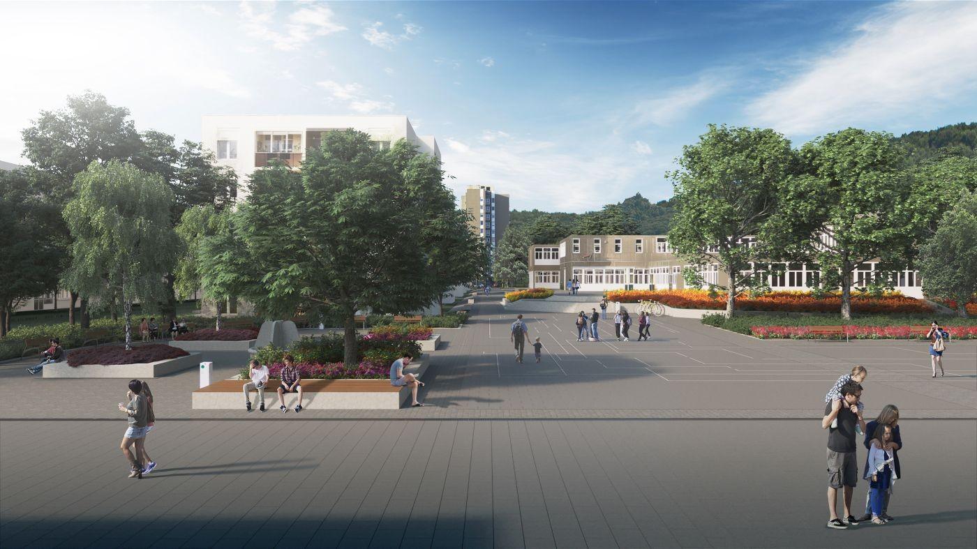 Európai színvonalú lett a felújított Beszterce tér
