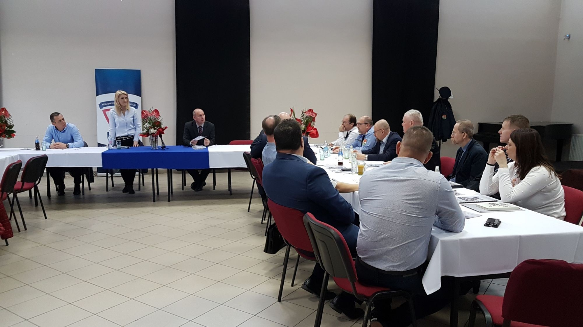 Baleset-megelőzési évértékelő értekezlet Nógrád megyében