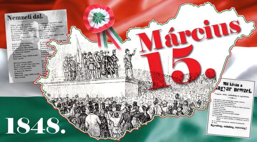 Ünnepi programok március 15-én Salgótarjánban