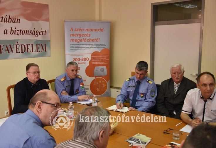 Értékelte a 2018-as évet a Nógrád Megyei Tűzmegelőzési Bizottság