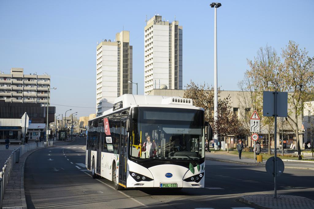 Elektromos autóbuszt állítottak forgalomba Salgótarjánban