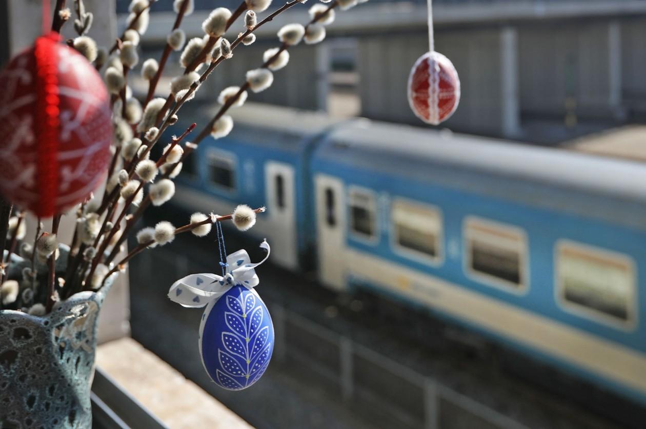 Változik a vonatközlekedés a húsvéti hosszú hétvégén