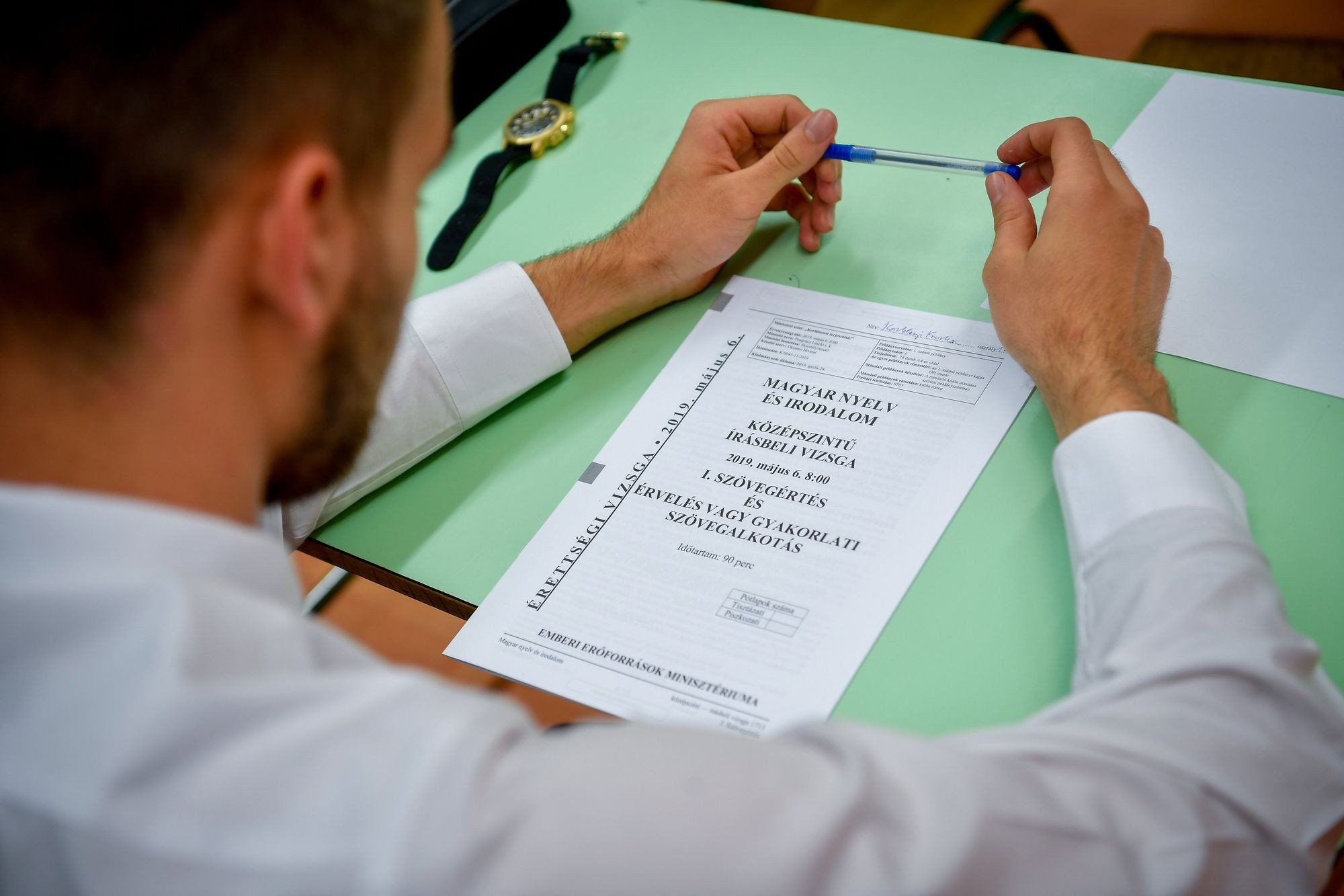 Nem találták nehéznek a magyar feladatokat a diákok
