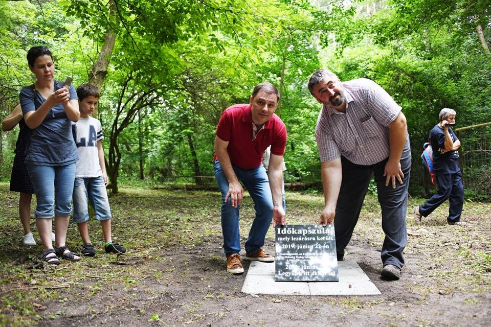 Felújították a fenyvespusztai Tuzson Arborétumhoz vezető erdei utat