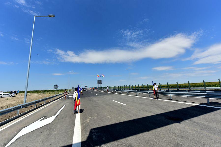 A Csanádpalota-Nagylak határátkelőhely a román oldalon épült meg