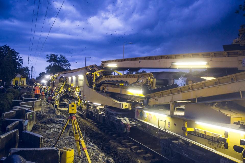 Ütemterv szerint halad a dél-balatoni vasútépítés