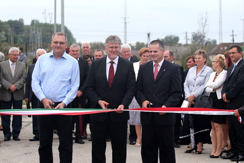Augusztus 20-án tartották Lajosmizsén a szennyvízprojekt zárórendezvényét