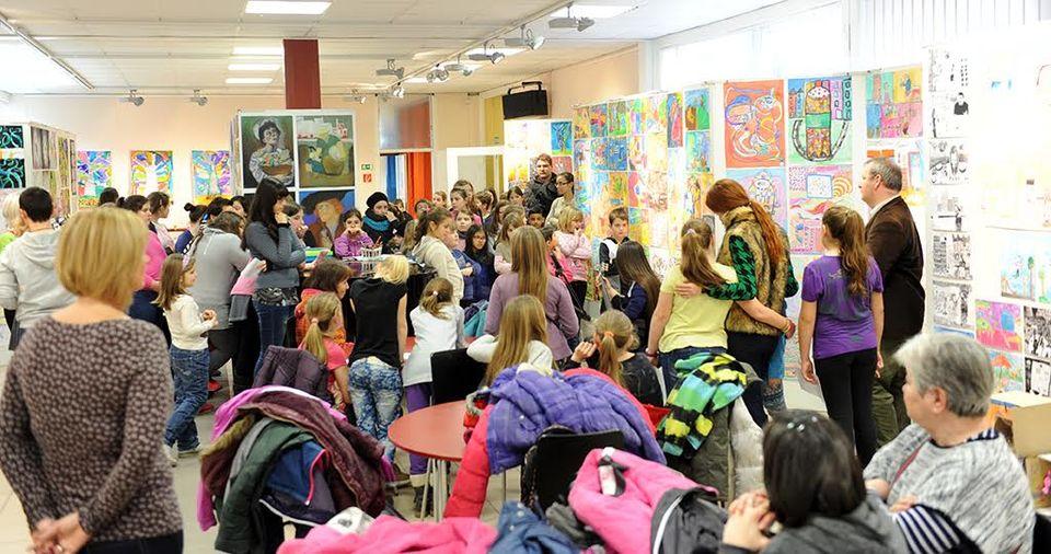 Csepeli művészeti iskolások kiállítása