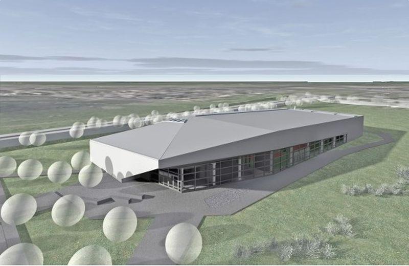 Új csarnoképület, Judo Központ épül a ceglédi Malomtó széli sporttelepen