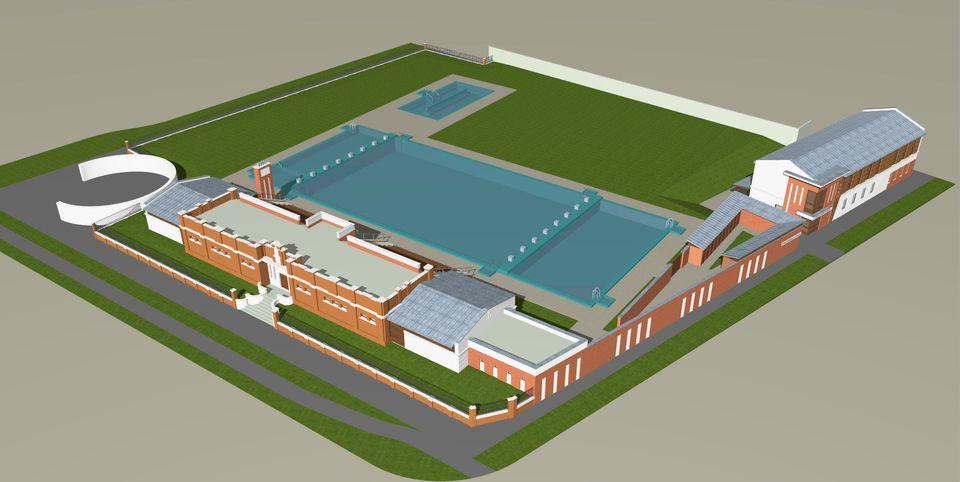 Új sportkomplexum épül nyártól Cegléden