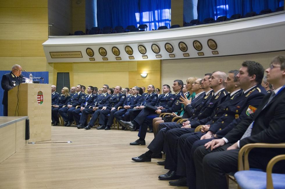 Rendőrségi évértékelő Pest megyében