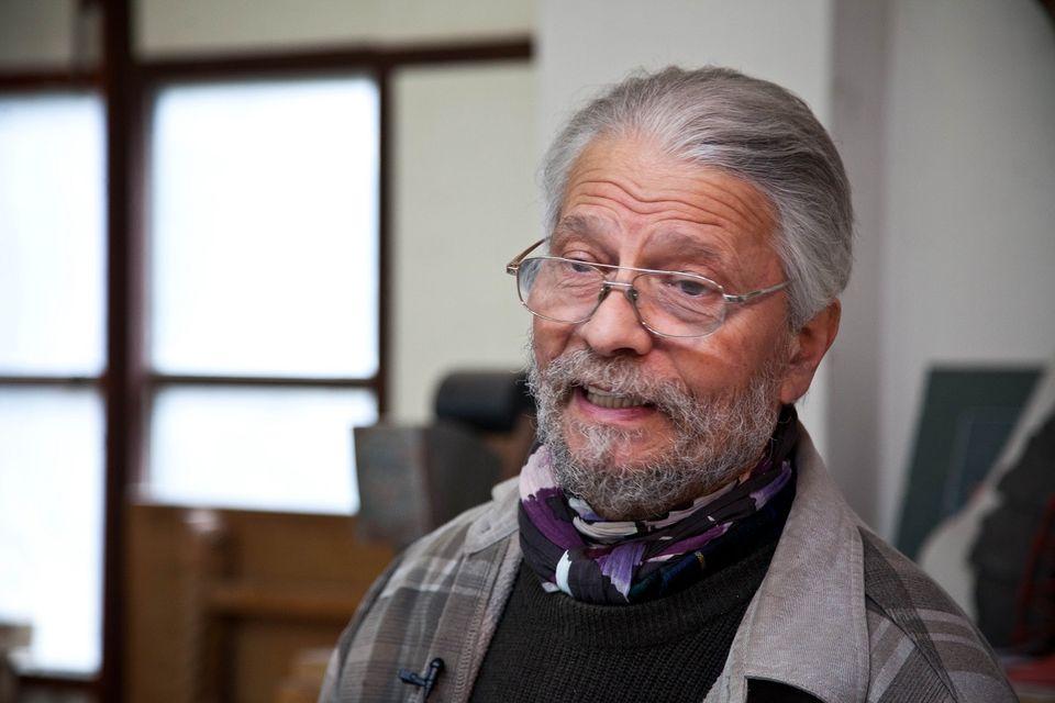 Kossuth-díjat kapott Farkas Ádám szobrászművész