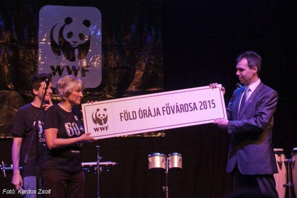 Vác városa nyerte el a Föld Órája Fővárosa címet 2015-ben