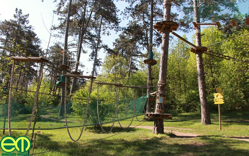 Budakeszin várja a családokat hazánk első kalandpark tanösvénye