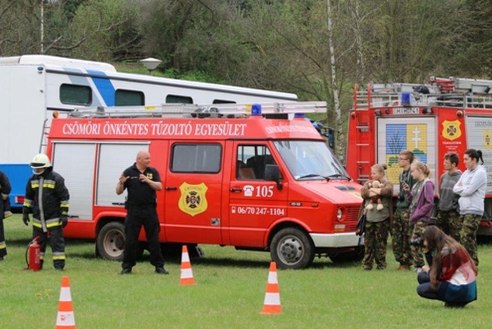 Katasztrófavédelmi ifjúsági verseny Isaszegen