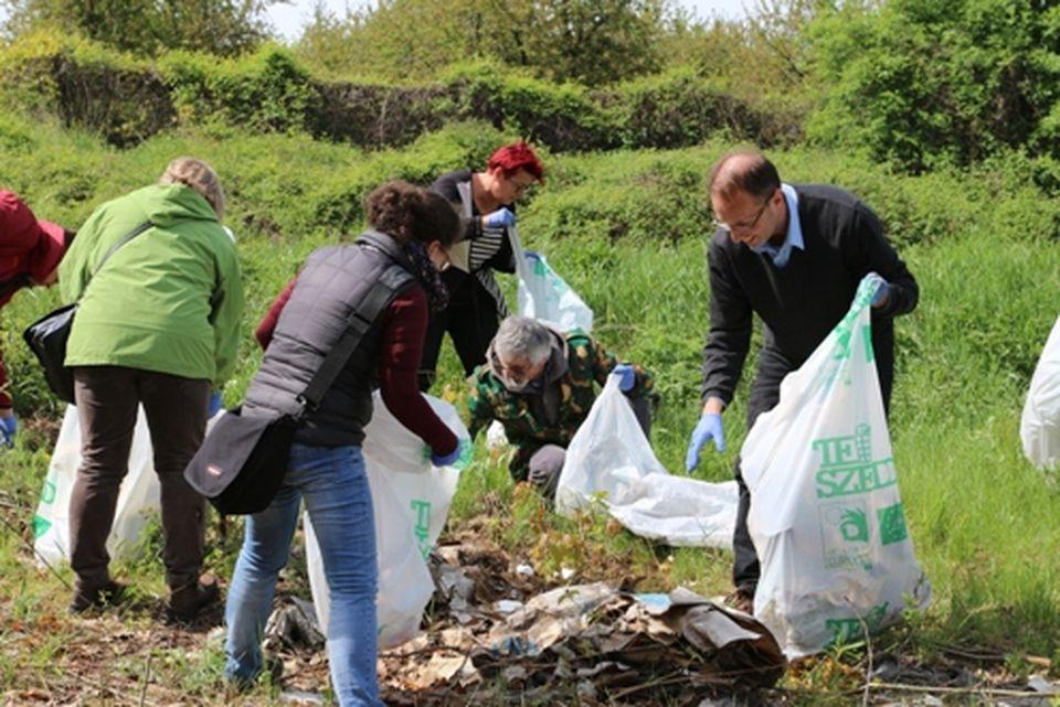 Önkéntesen a tiszta környezetért