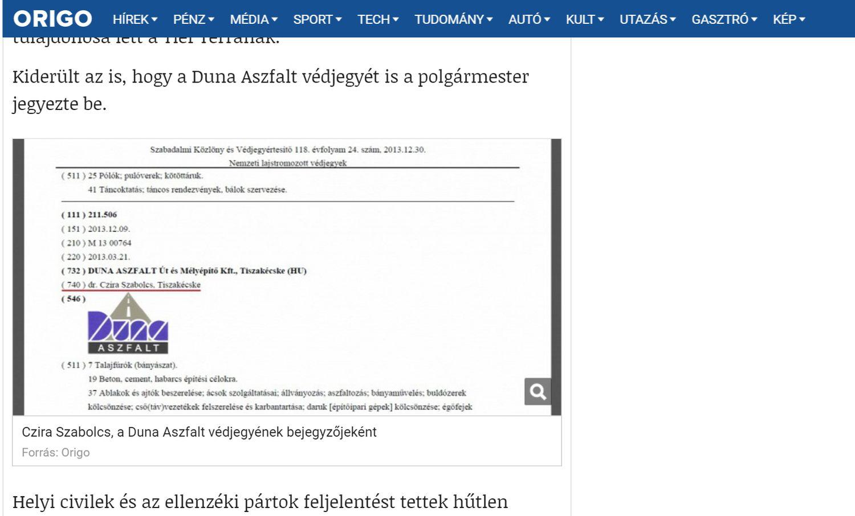 Kínos! – Az origo.hu összekeverte a nagykőrösi polgármestert a fiával