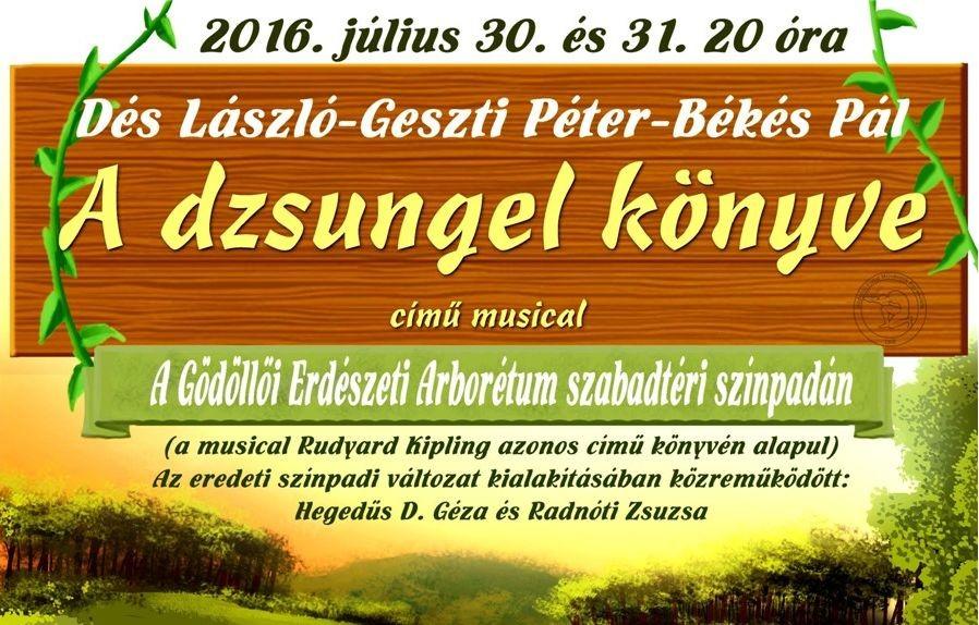 A dzsungel könyve a Gödöllői arborétum színpadán