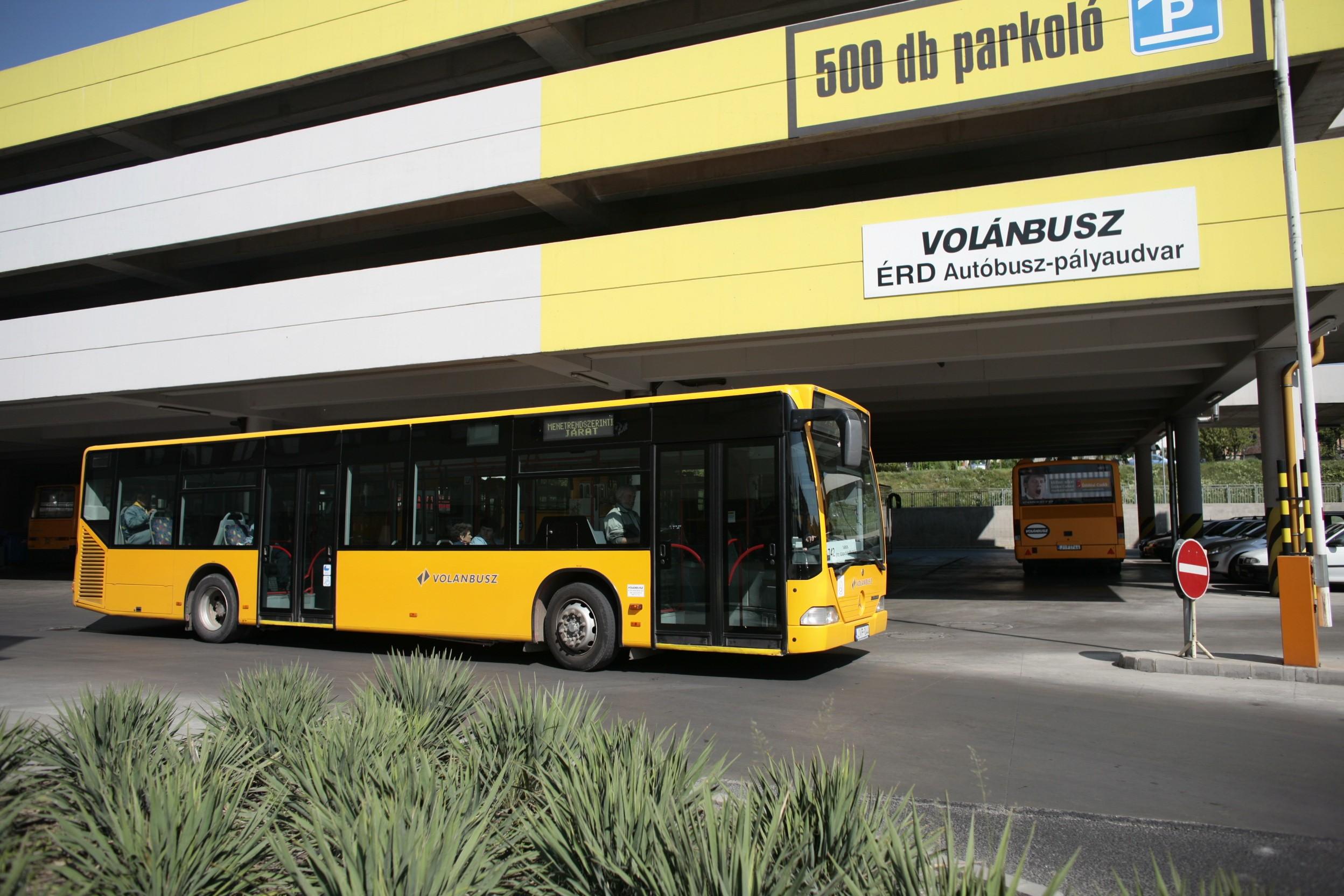 Az Érd környéki buszok menetrendje a vasúthoz igazodik