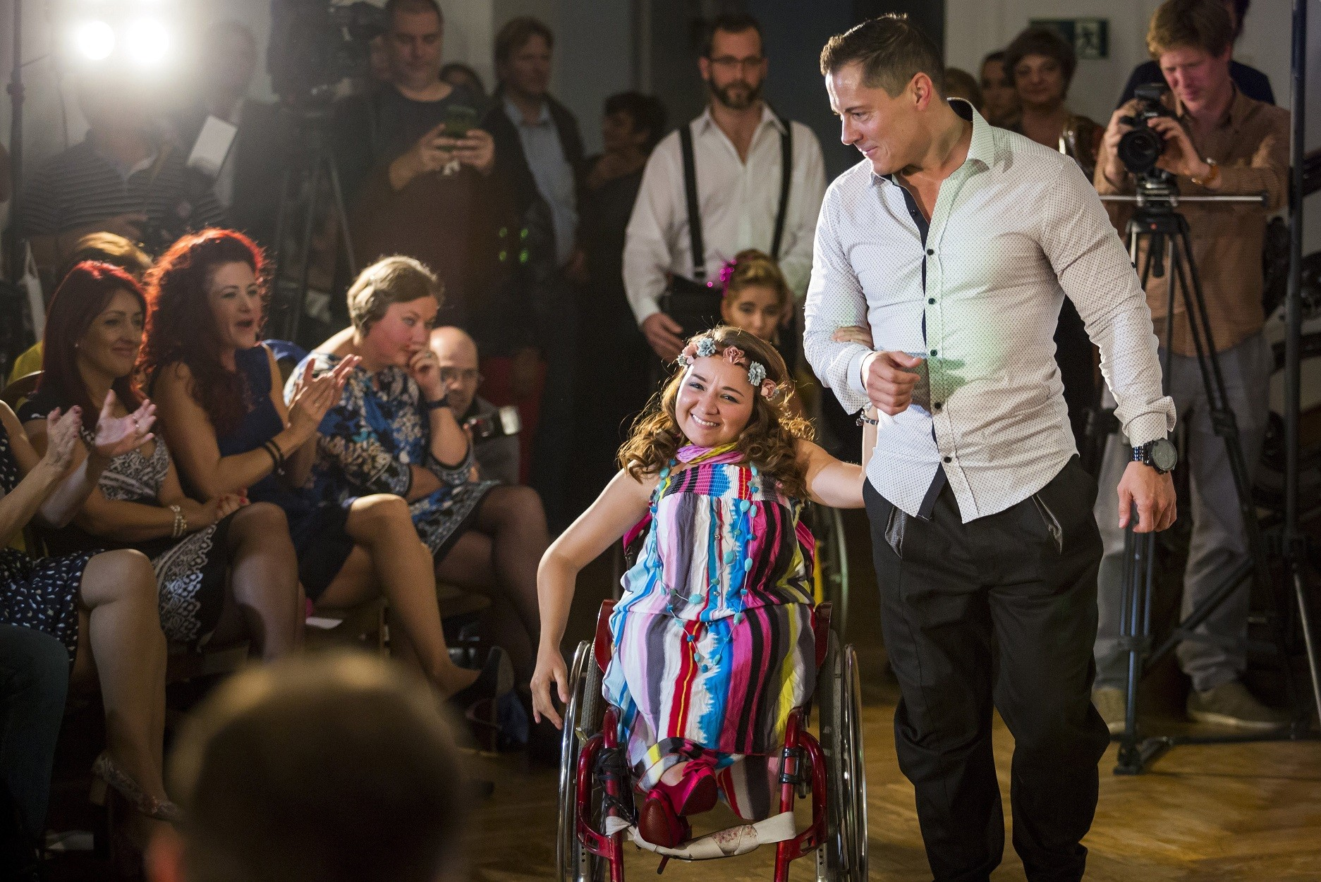 Esélyegyenlőségi divatbemutatót tartottak a Duna Palotában