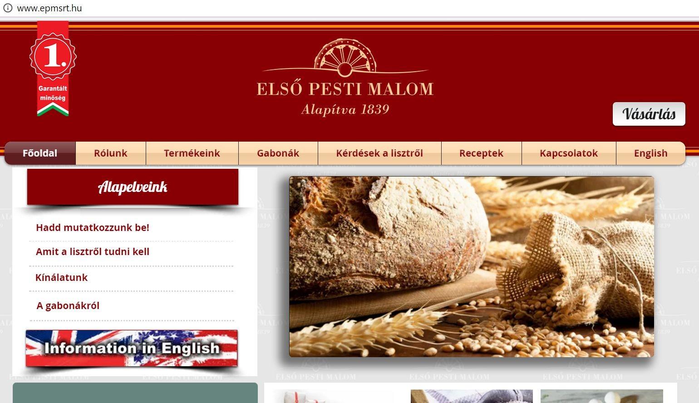 Bírósági végrehajtást kezdeményeztek az Első Pesti Malom- és Sütőipari Zrt-vel szemben