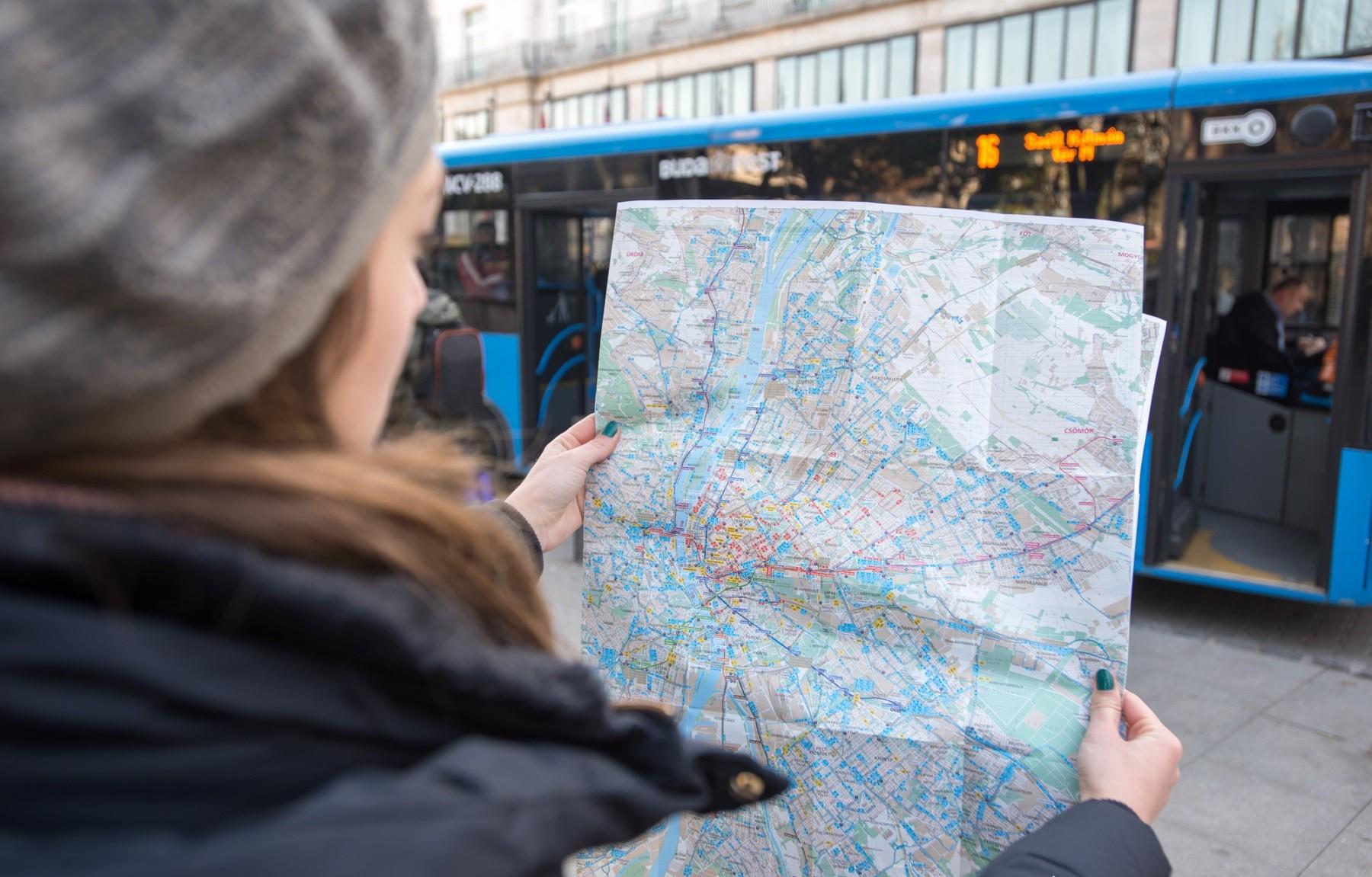 Ingyenes nyomtatott térképet adott ki a BKK
