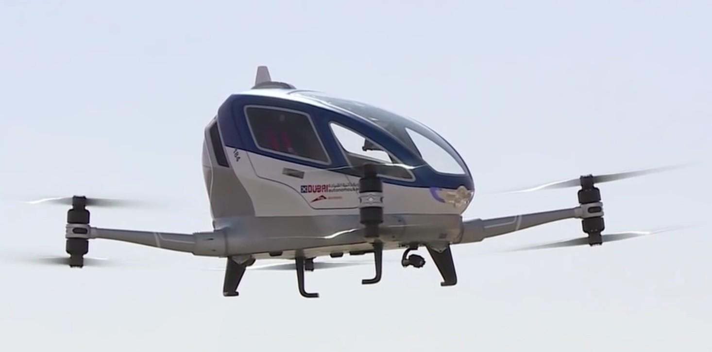 Drónok forradalmasíthatják a taxizást - Dubaiban ez már a jelen!