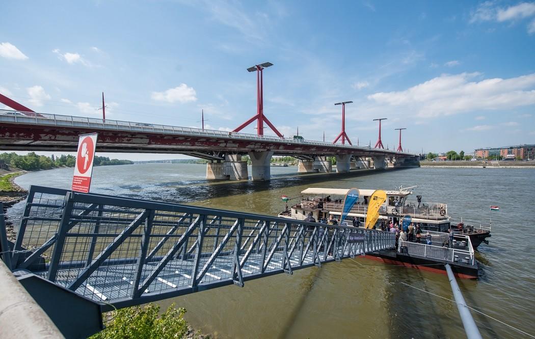 Átadták a BKK új kikötőjét