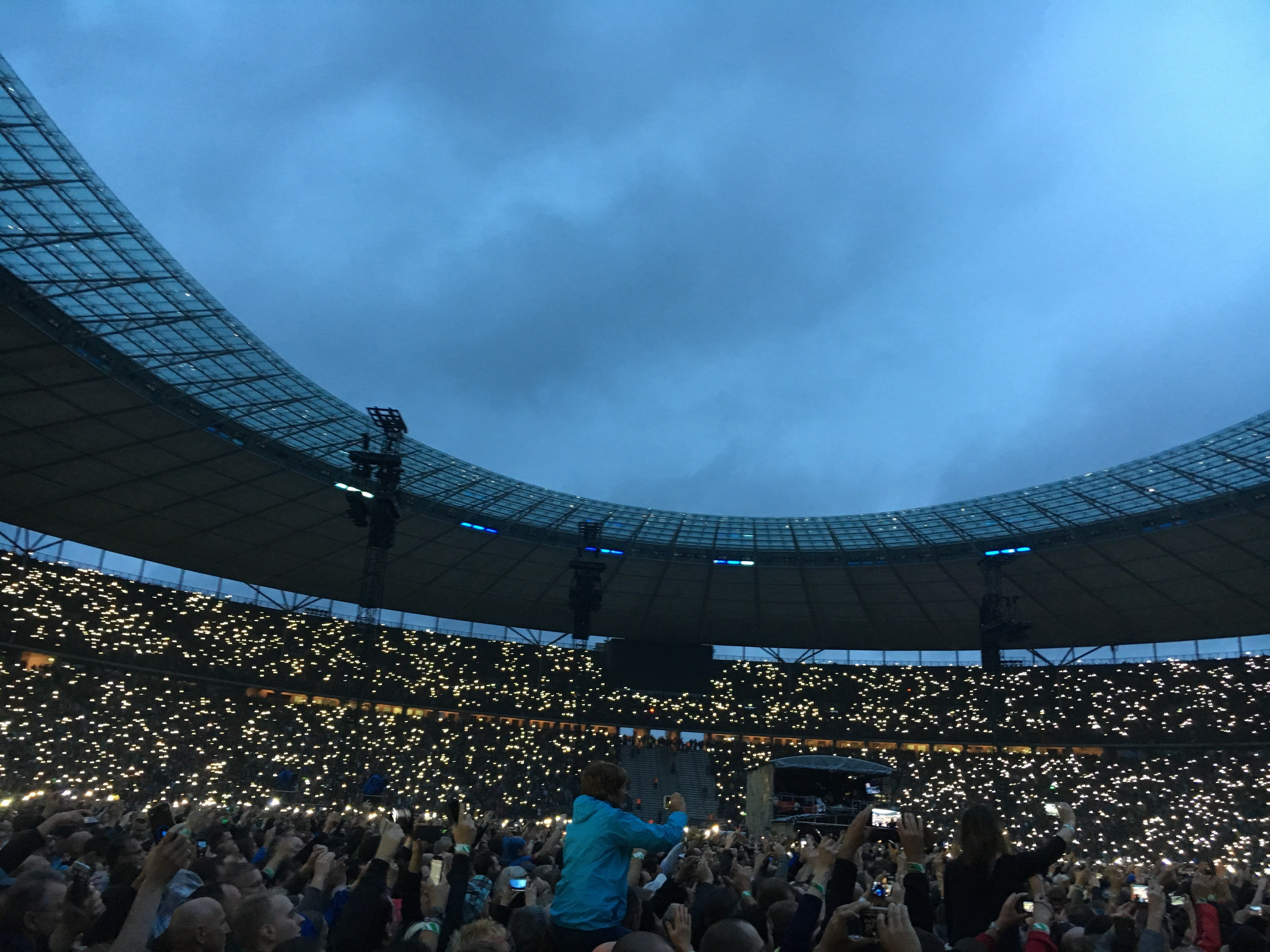 Így varázsolt a U2 Berlinben