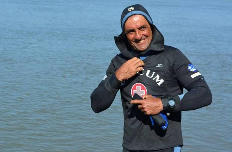 Végigúszta a Dunát, 40 maratonnal folytatja a váci ultrasportoló