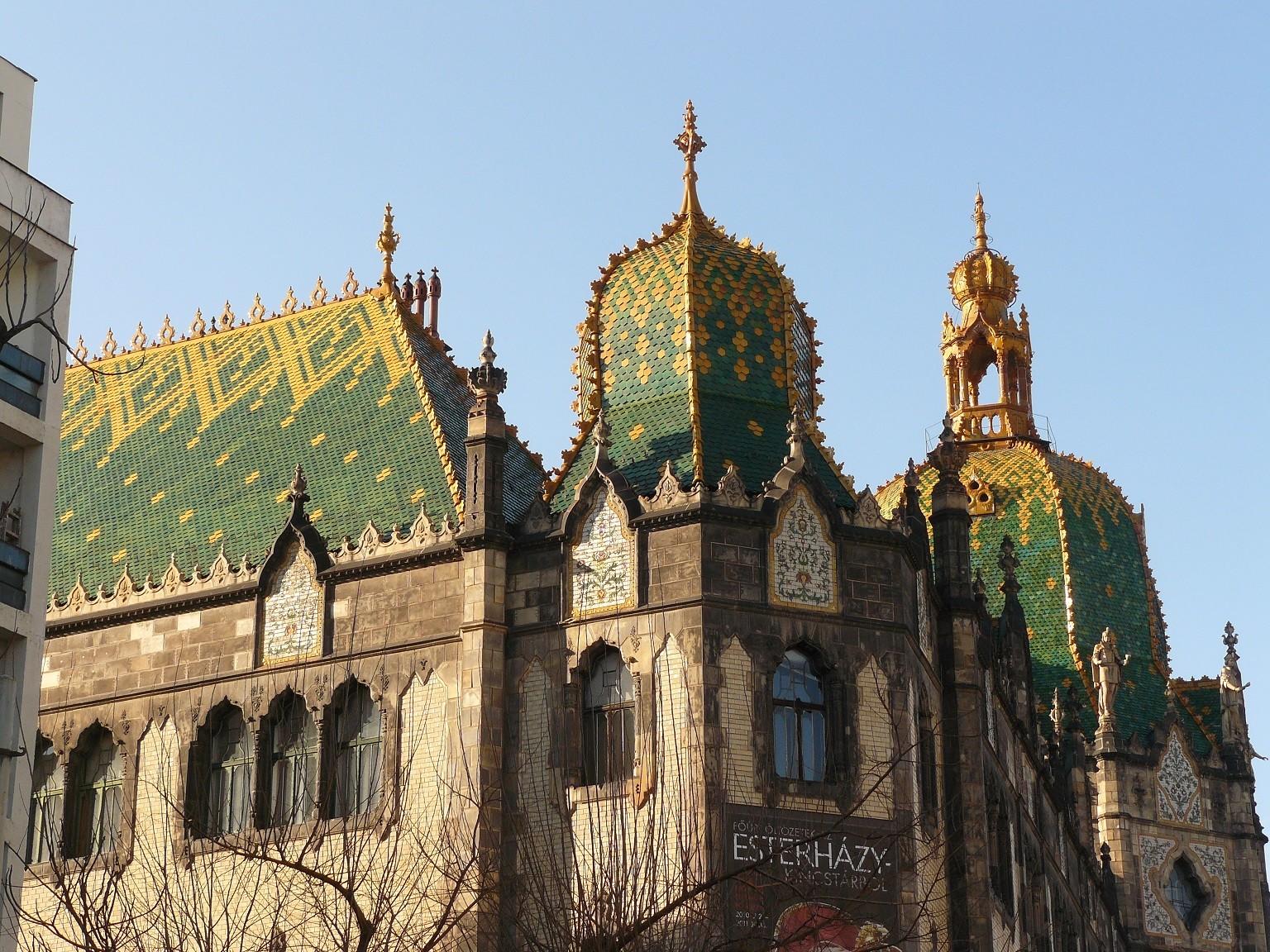 A Sziget fesztiválra viszik az Iparművészeti Múzeum 13 tonnás kupoláját