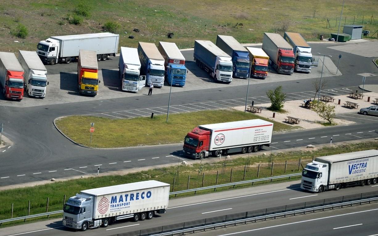 Kamionstop – STOP!