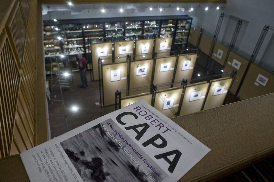 Legendás magyar haditudósító munkájából nyílik kiállítás