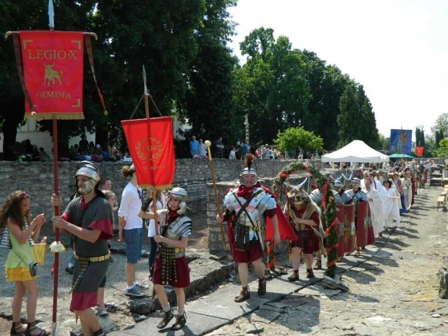 Időutazás: Római Fesztivált tartanak Aquincumban
